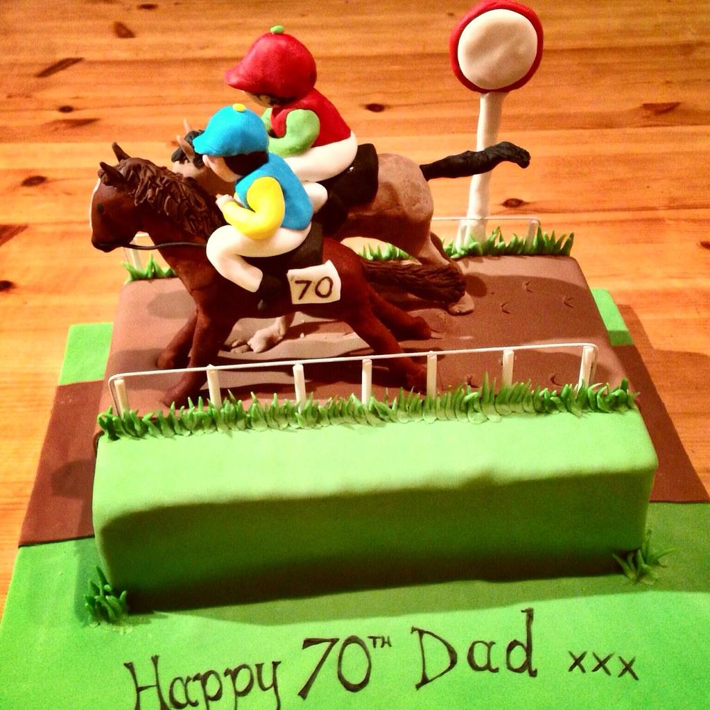 Horse racing cake Horse racing cake Mark Acraman Flickr