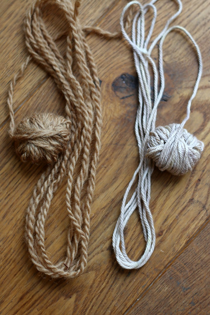 Yarn Naturally Dyed with Walnut