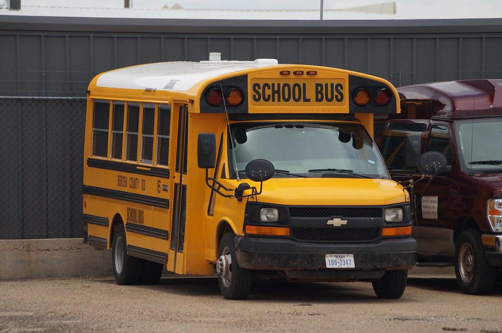 Thomas Built Buses >> Borden County ISD Thomas Minotour #16 | One of Borden ...