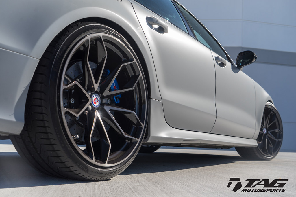 HRE Wheels | Audi RS7 with HRE P201 Wheels in TWO TONE ...