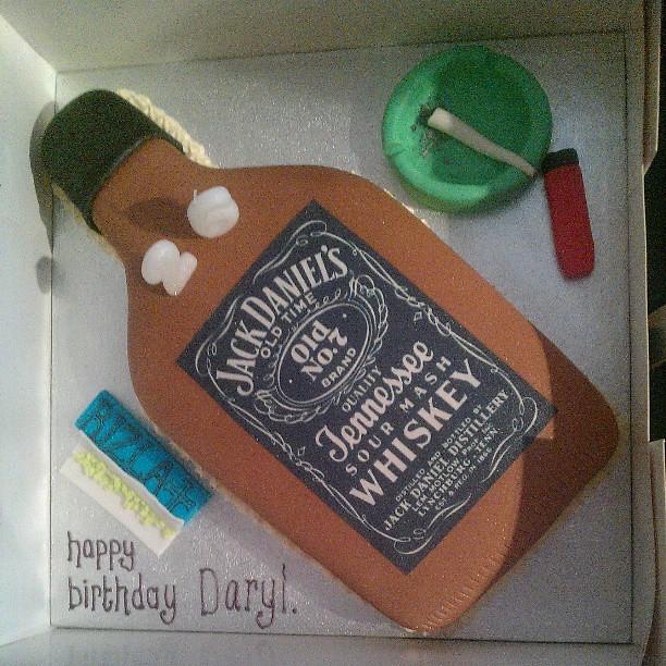 Daryl Birthday Cake