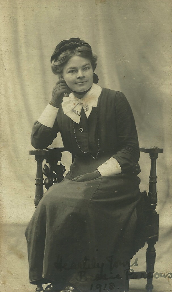 Nurse Betty Parsons 1918 I Suspect The Actual Picture