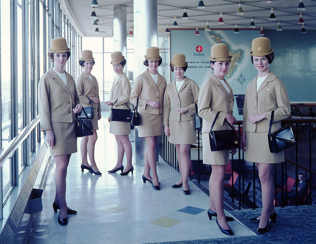 air hostess uniform 1965 gold 003 photos of some of the