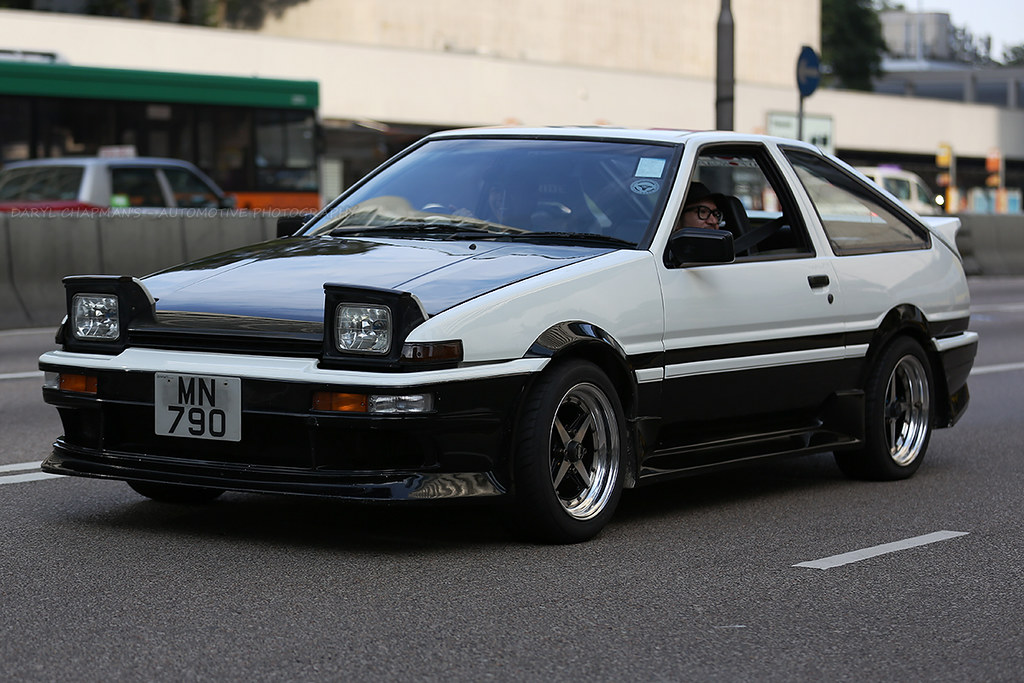 Toyota, Sprinter Trueno, AE86, Central, Hong Kong | If this … | Flickr