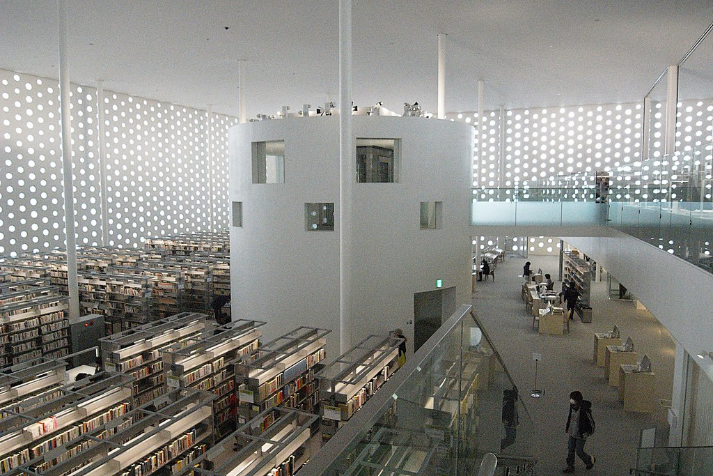 Coelacanth K&H Architects - Kanazawa Umimirai Library - Ph ...