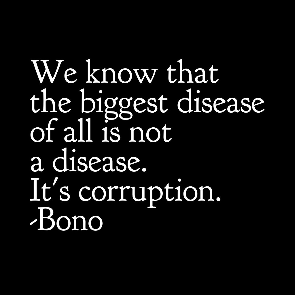 "Quotes About Corruption: ""We Know That The Biggest"