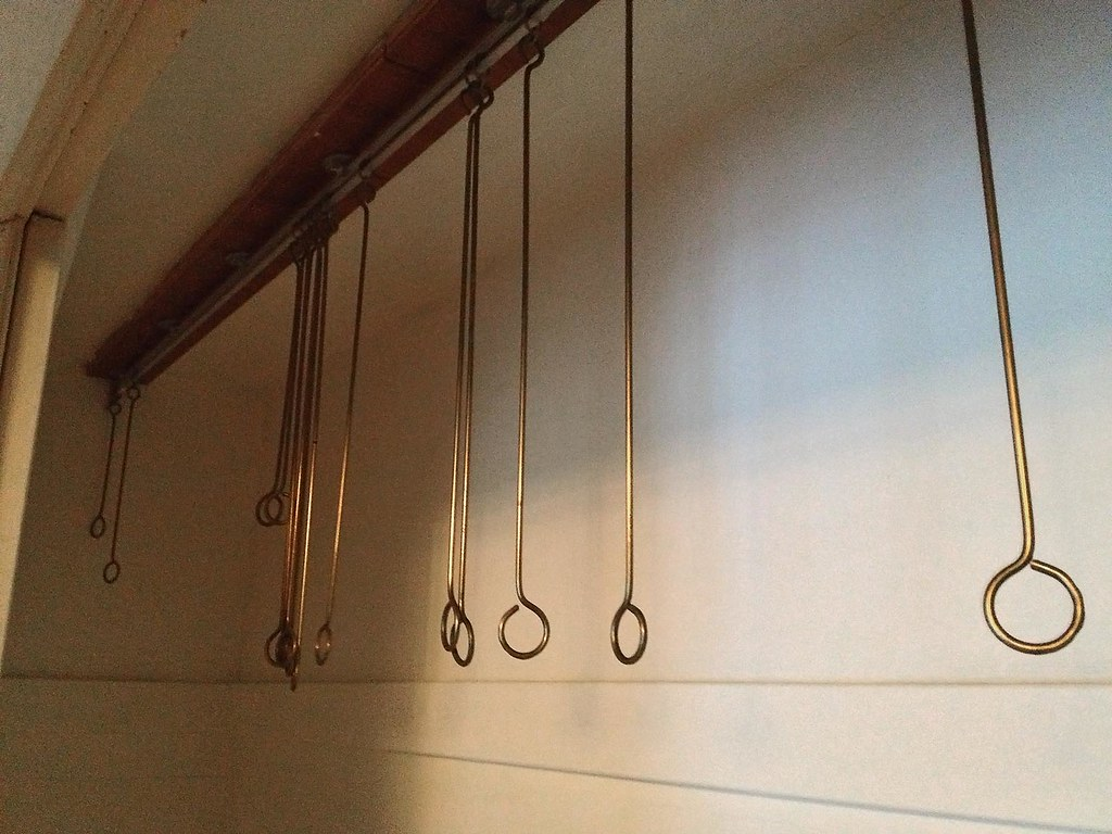 Shallow Closet Clothes Hanger System 1940s Cleveland