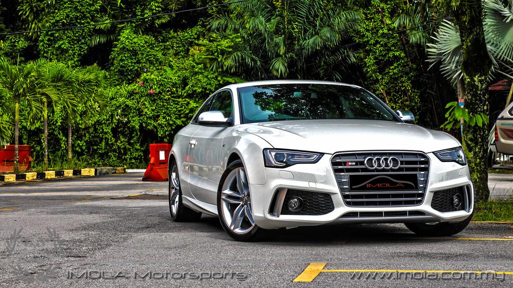 Audi S5 White Caractere 6 Aqib Nadeem Flickr