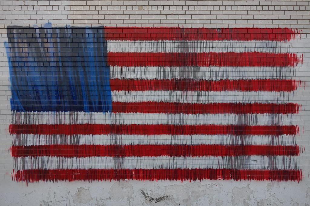 american flag graffiti - photo #18