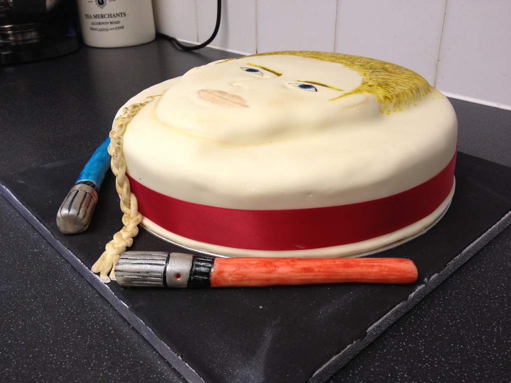 Anakin Skywalker Birthday Cake