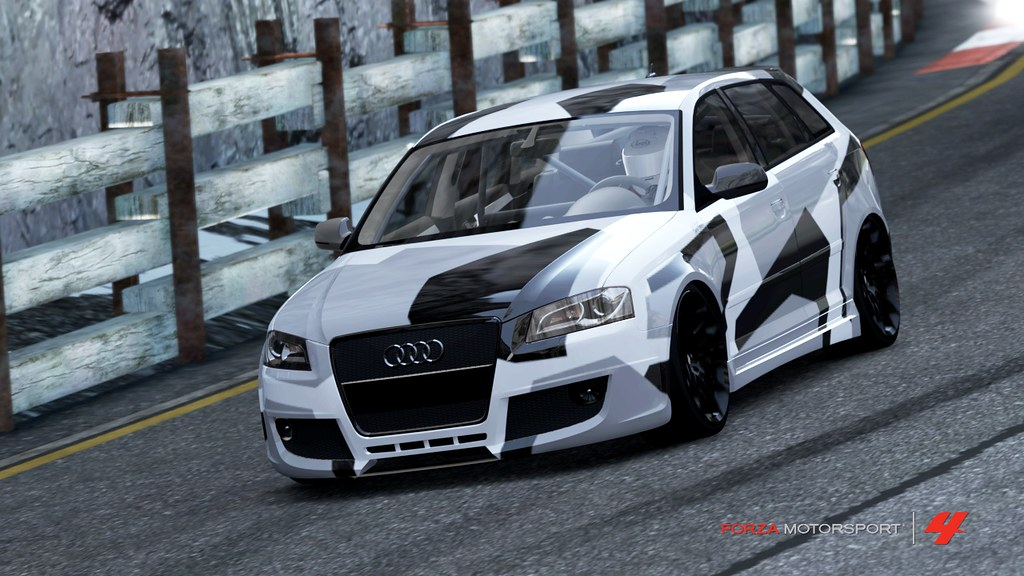 Audi Rs3 Original Camo Rs3 Inspired By Jon Olsson S