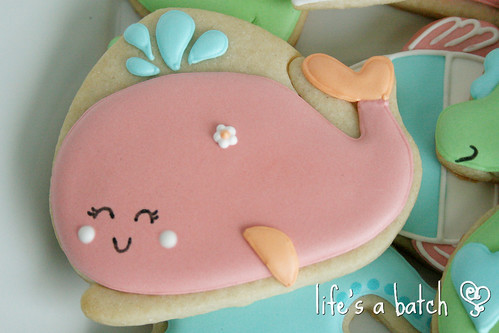 Whale cookie.