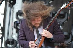 Jim James hair guitar