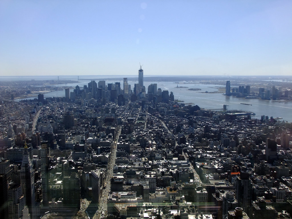 View from the 102nd floor of the empire state building ma for 102nd floor empire state