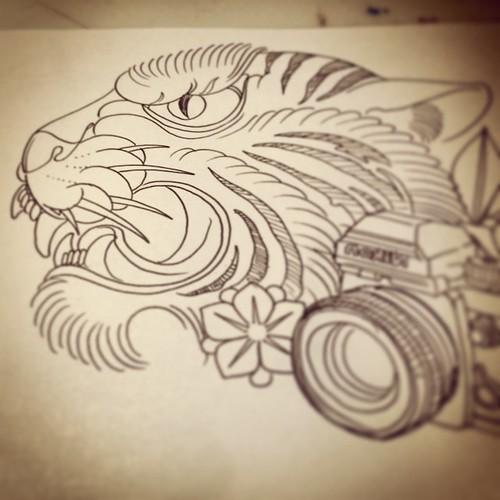 Fast sketch for tomorrow's tattoo #sketch #boceto #tattoo ...