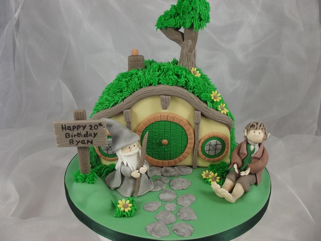 Hobbit Hole Cake Hobbit Hole Cake | by