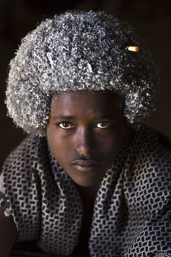 Afar Man With Butter In His Hair Ethiopia 169 Eric