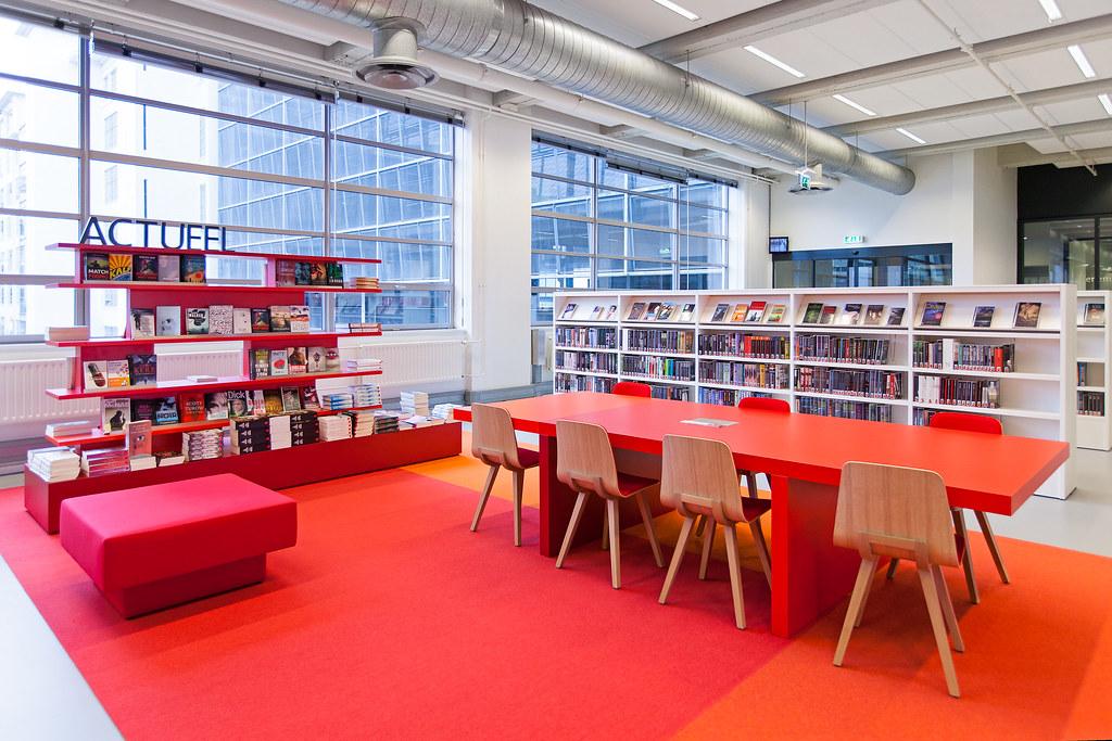 Interieur centrale bibliotheek eindhoven interieur central flickr - Interieur bibliotheek ...