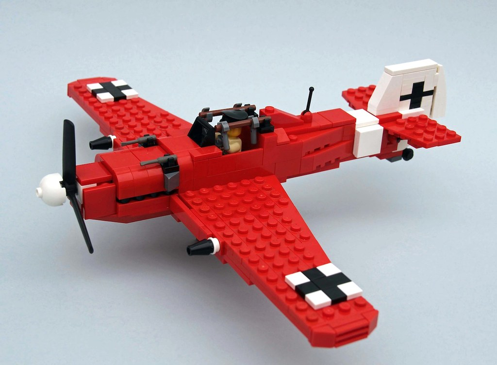 bf 109 red baron manfred von richthofen the plane you see flickr. Black Bedroom Furniture Sets. Home Design Ideas
