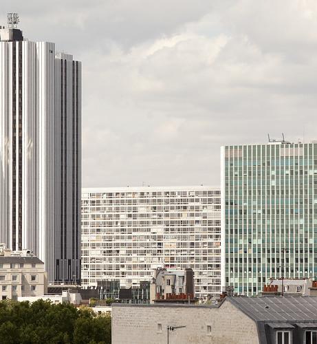 Immeuble mouchotte jean dubuisson 1966 maine montparnasse paris flickr - Jean dubuisson architecte ...