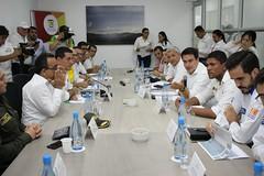 Ministro Rojas reunión con alcaldes de Bolívar