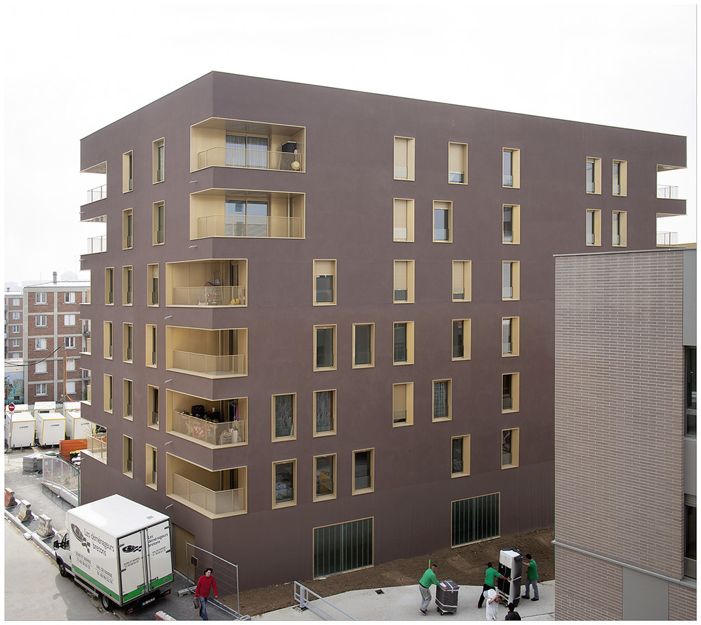 immeuble de logement tvk architectes zac du chaperon ver