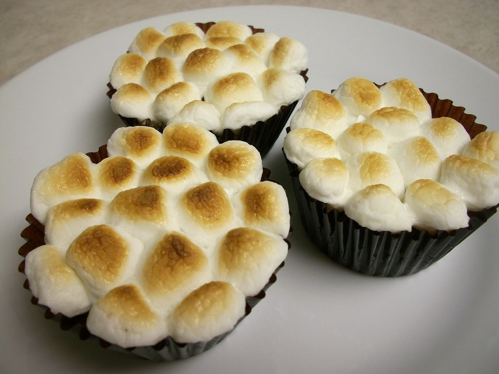 Smores Cupcakes Recipe With Chocolate Cake Mix