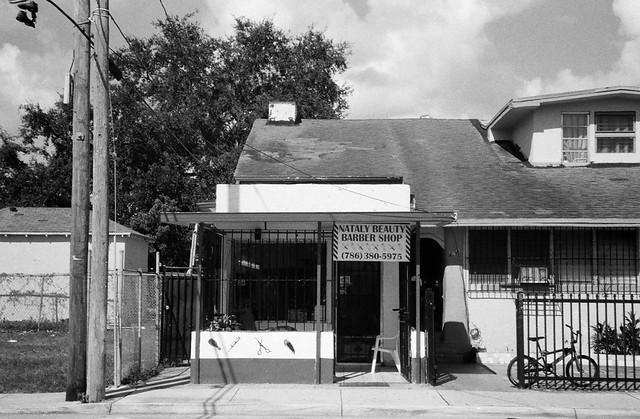 Barber Shop Miami Beach : Barber Shop Little Havana Minolta Freedom Dual and Ilford ...