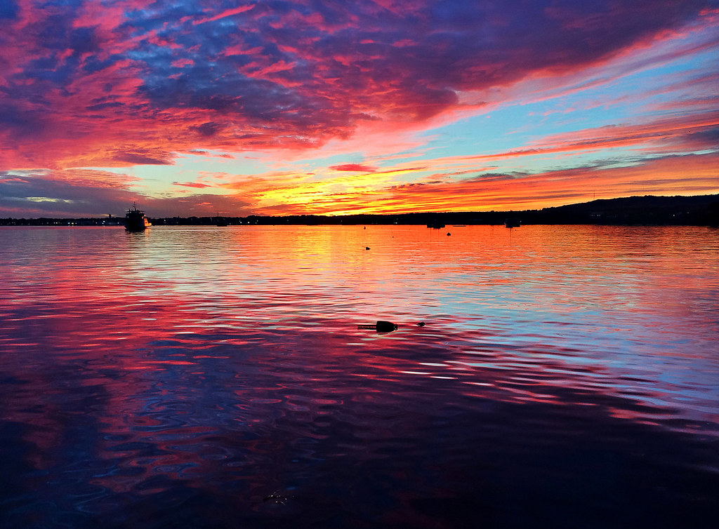 Maine Sunset   October...