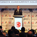 Prime Minister of Turkey Tecep Tayyip Erdogan attends the opening of the 5th Izmir Economic Congress