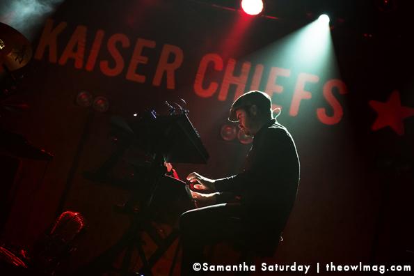 Kaiser Chiefs @ El Rey Theatre, LA 2/25/14
