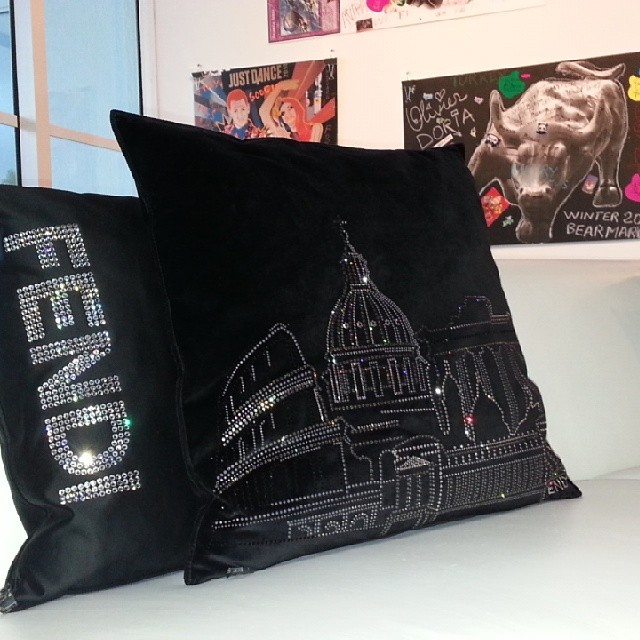 Fendi Casa Lounge No 4 And Swarovski Crystal Pillows With