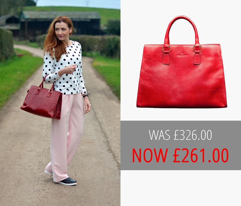 Summer sales | Brenda MacLeod red Jane tote