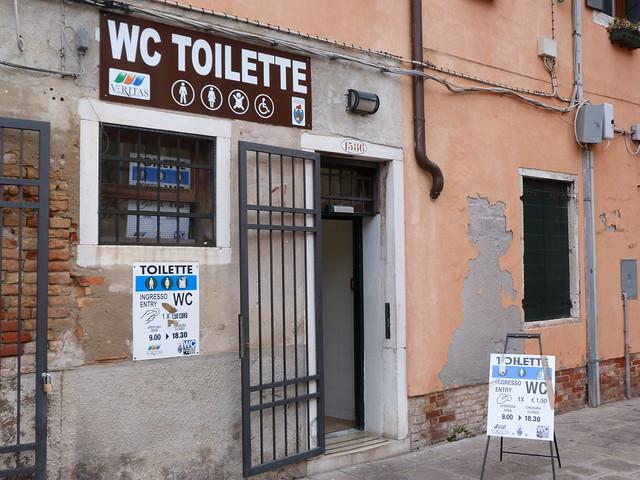 WC de Venecia
