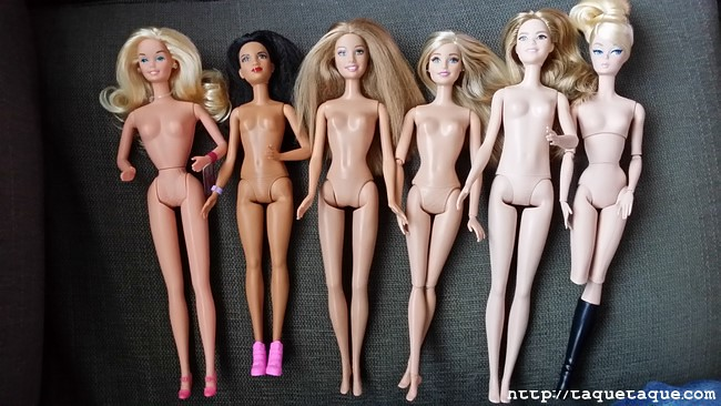 Barbies distintas