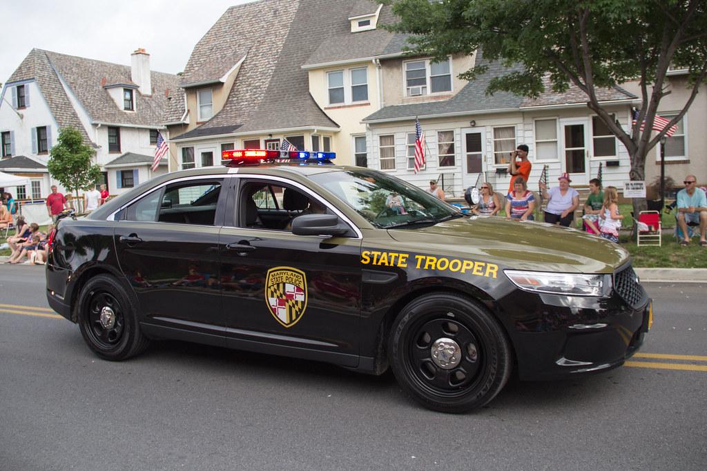Maryland State Police Ford Police Interceptor 2013 Flickr