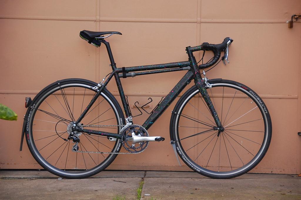 Kinesis Tk3 Splatter Rain Bike Kinesis Tk3 Frameset