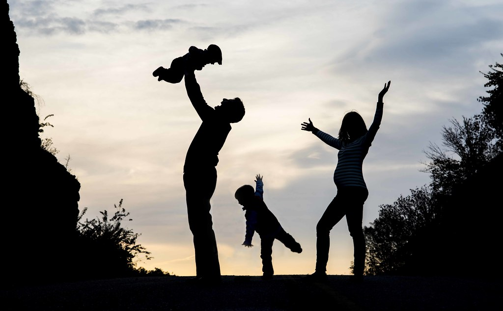 Growing family silhouette ray flickr for Growing families