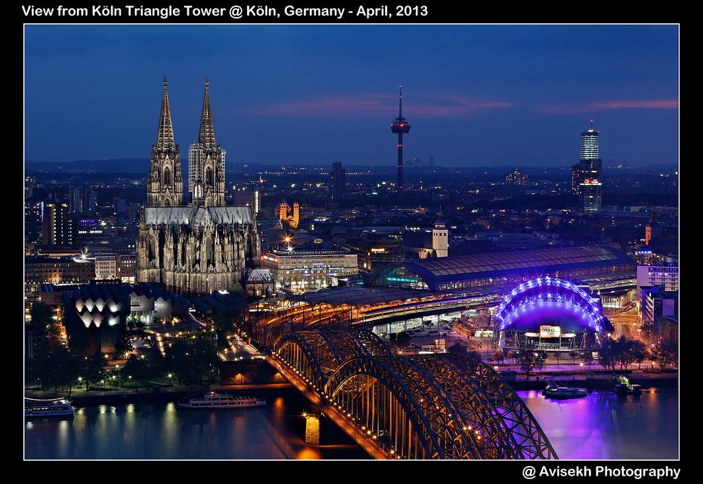 No Gallery Köln : view from k ln triangle tower k ln germany canon eos 5d flickr ~ Watch28wear.com Haus und Dekorationen