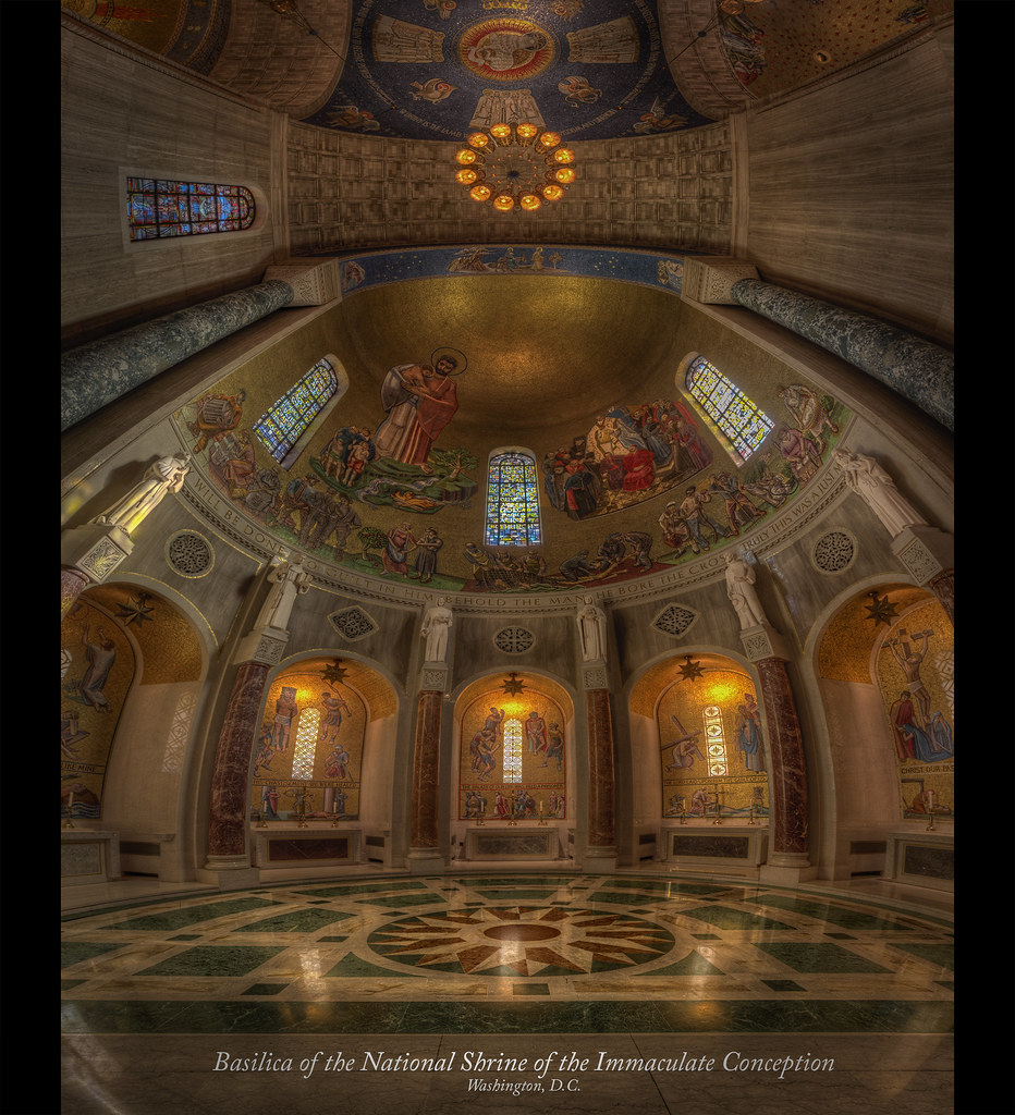 Explore This Immaculate New: Basilica Of The National Shrine Of The Immaculate Concepti