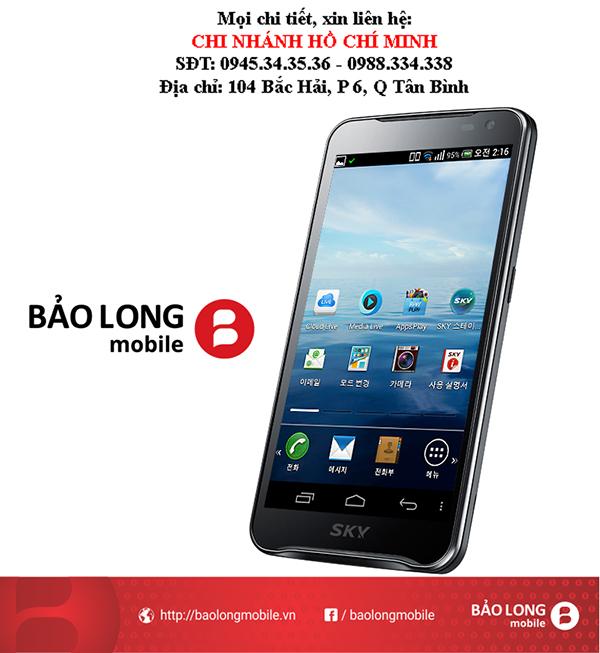 Sky A830 - Điện thoại thông minh từ Hàn Quốc cấu hình mạnh mang lại cho người tiêu dùng trải nghiệm thích thú