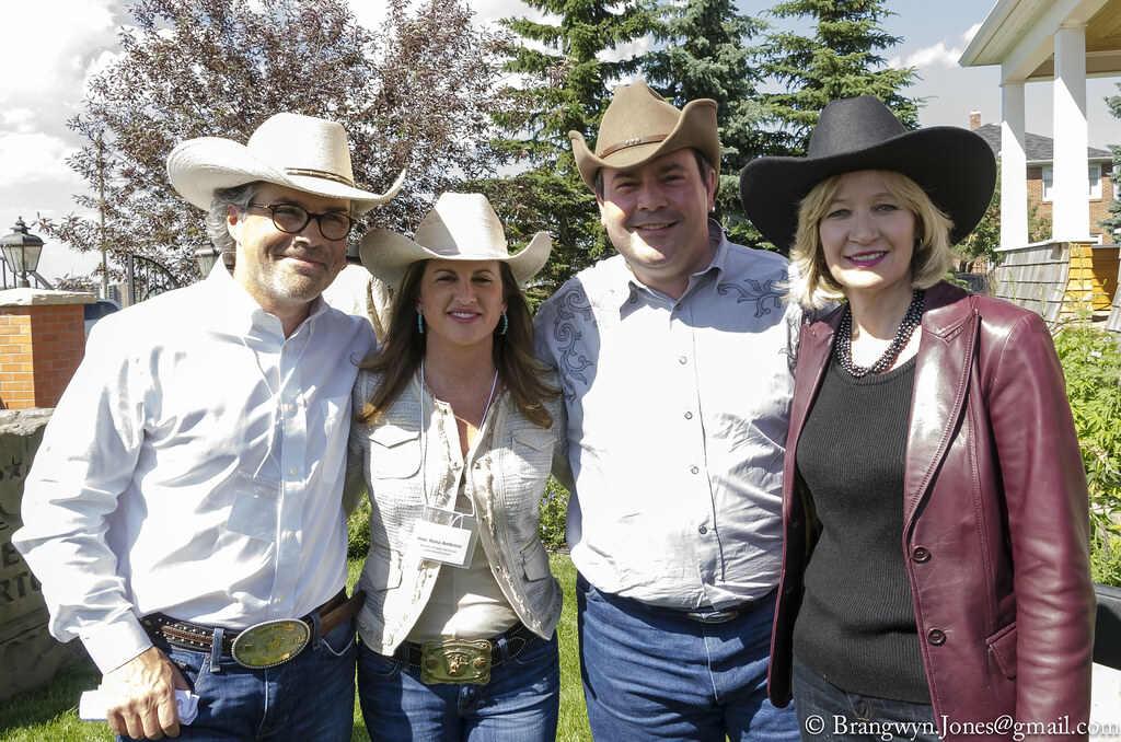 True Patriot Love Stampede Reception In Calgary Left To