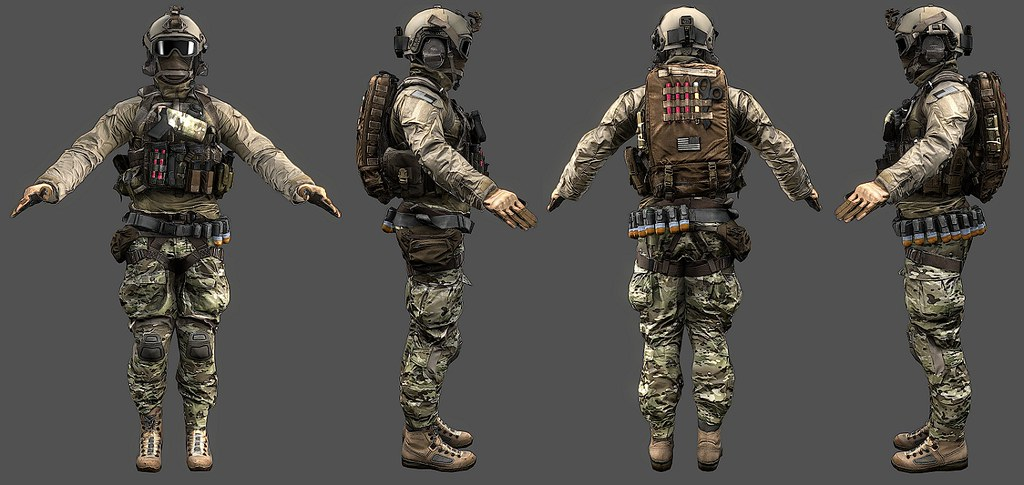BF4 Assault Default | Image taken from a Facepunch thread ...