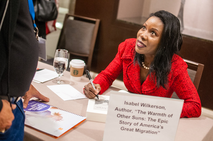 Building Networks for Leading Change - Day 2 - Isabel Wilkerson Book Signing 2 | by W.K. Kellogg Foundation