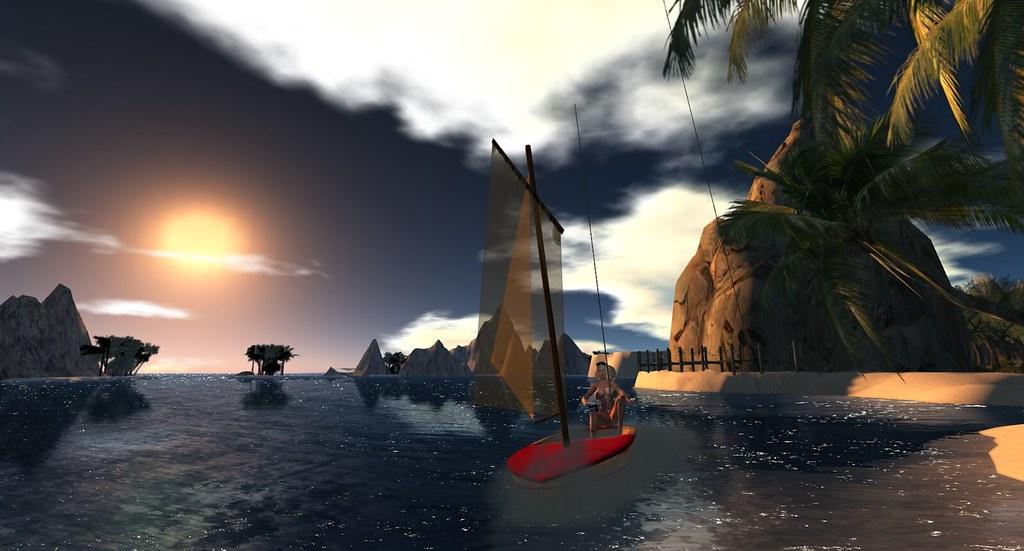 Sailing Again  Taken At Mikos Nude Beach - Home Of -6818