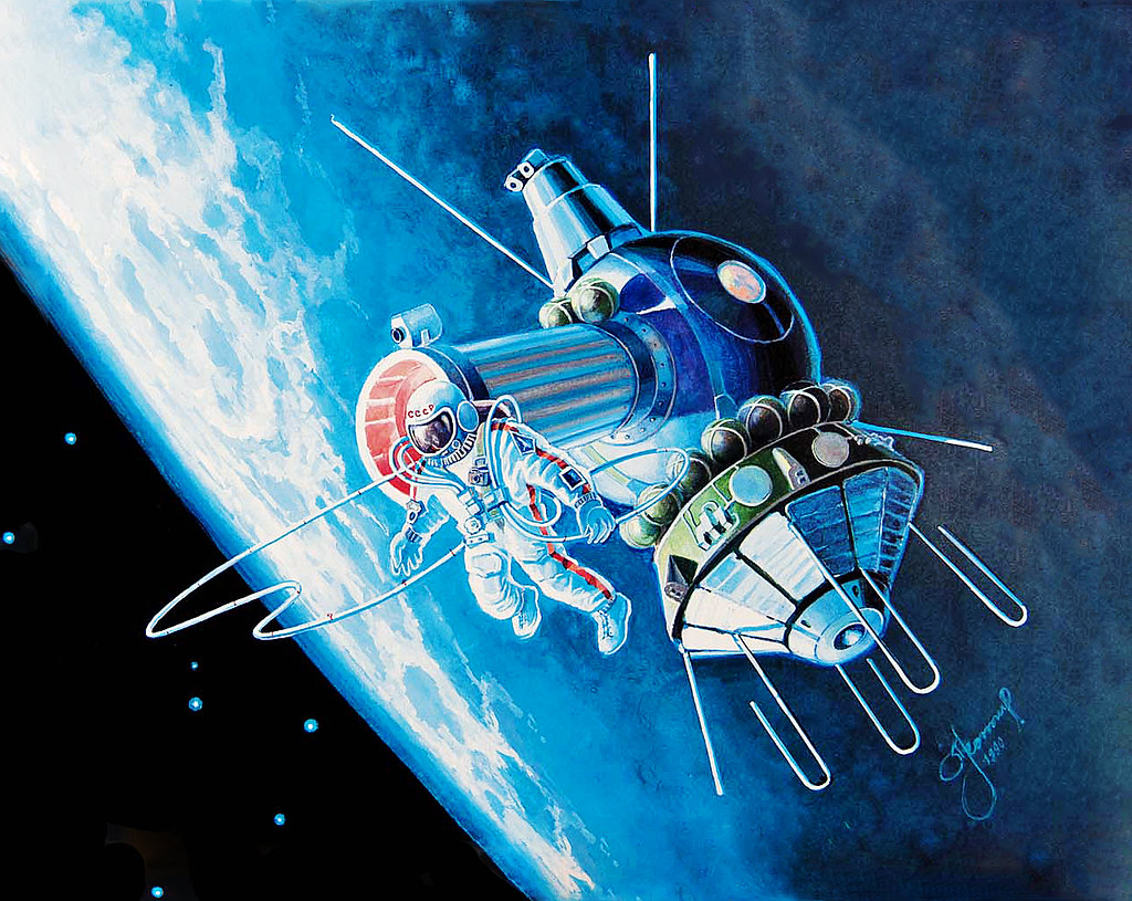 Voskhod 2 Quot The World S First Spacewalk With Alexey Leonov