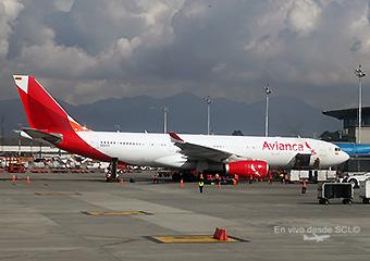 Avianca A330-200 en BOG (RD)