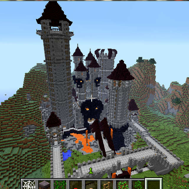 Super Awesome Fortress of Evil (Minecraft) | Flickr ...