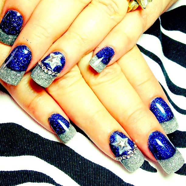 ... If You Are a Dallas Cowboys Fan and get 10% Off Your Nail Designs