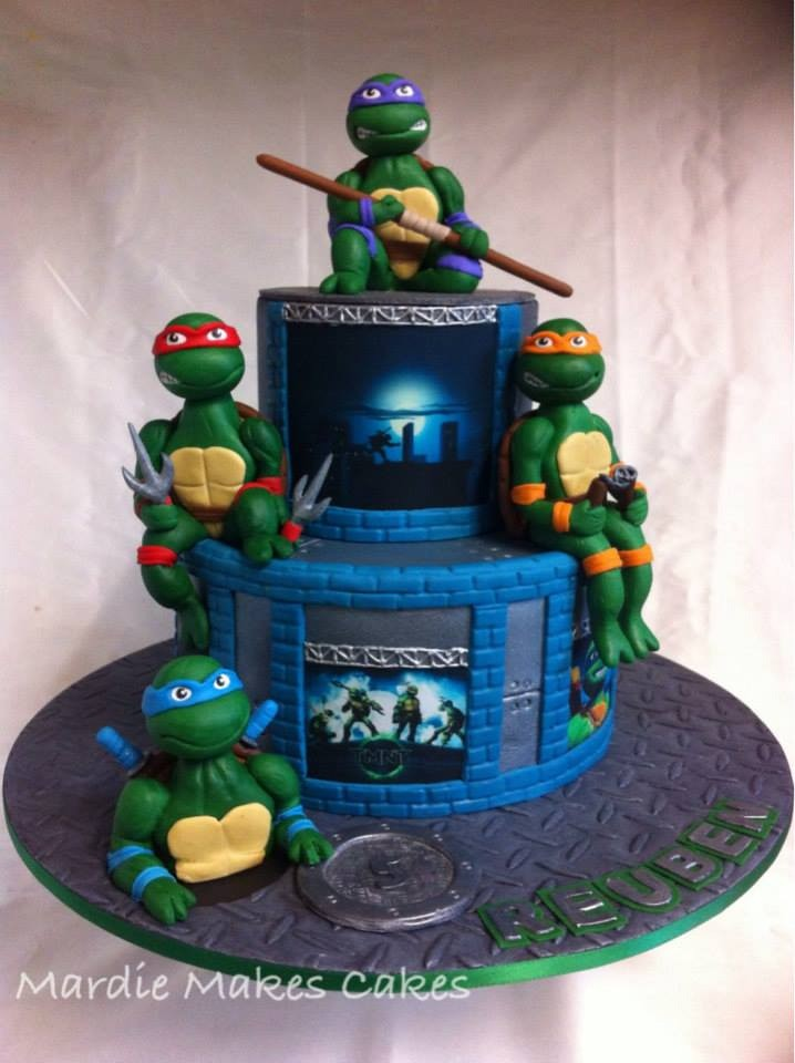 Who Makes Ninja Turtle Cakes